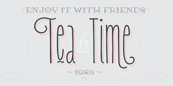 Carlino multi-layered vintage font family by Pío Pío