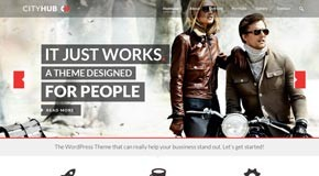 CityHub - Responsive Agency and Blog WordPress Theme