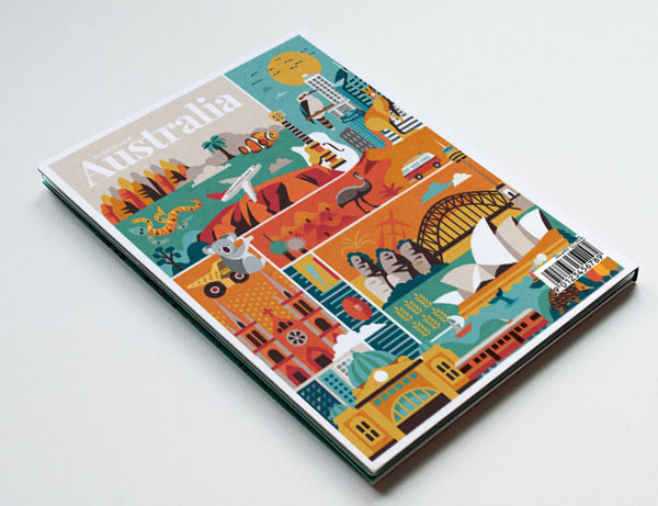 Discover Australia - Illustrations by Jimmy Gleeson