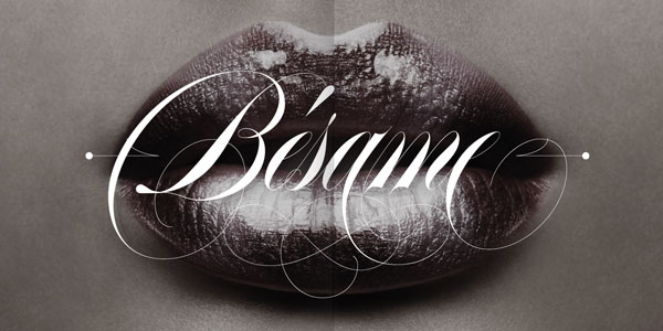 Erotica Calligraphy Font Family by Lián Types