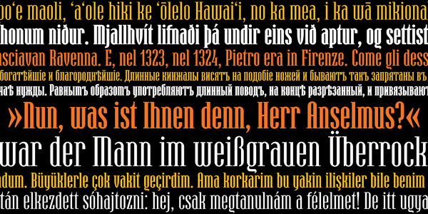 Hamerslag - display font