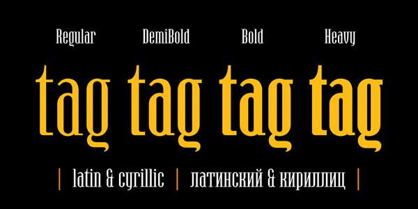 Hamerslag - font weights