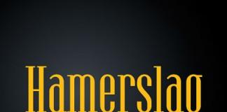 Hamerslag - ultra condensed serif font family by Paweł Burgiel