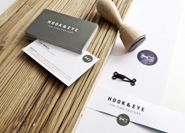Hook & Eye Corporate Identity Dittel | Architekten