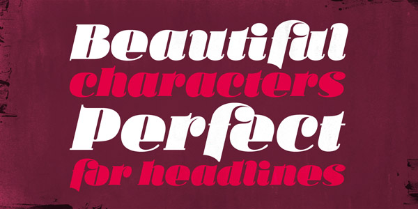 Ka Callista - Bold and  Italic Display Font by Karandash