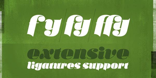 Ka Callista - Extensive Ligatures Support