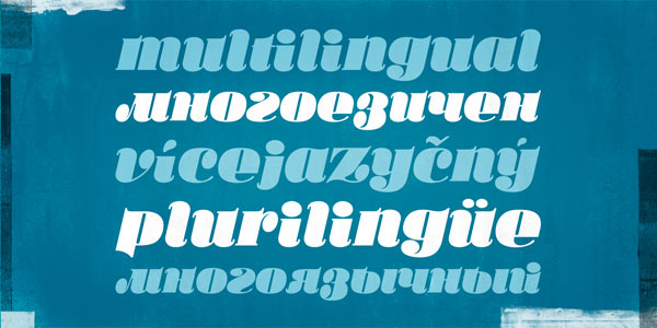 Ka Callista - Multilingual Typeface