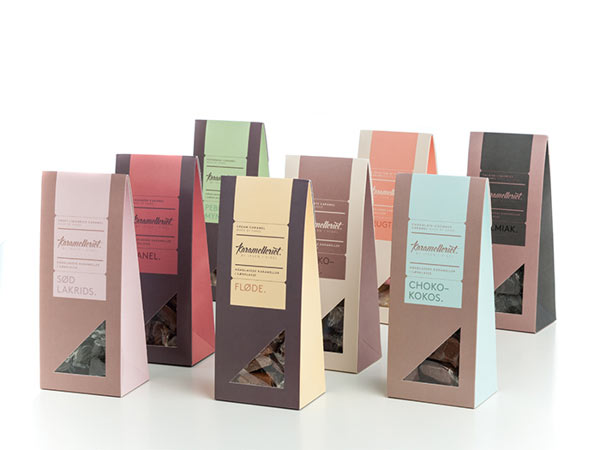 Karamelleriet Packaging by Bessermachen DesignStudio