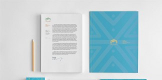 Lion House Stationery Design by Alexander Kormilitsyn