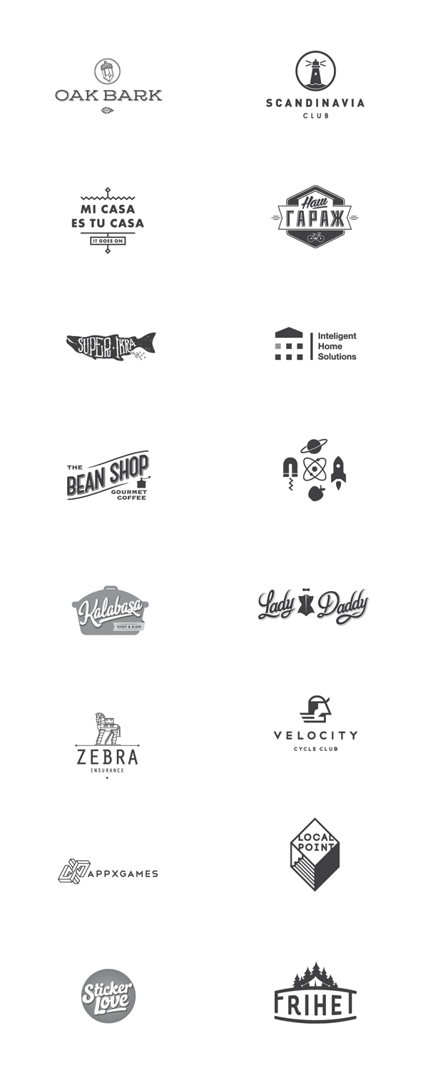 Logo Design Collection by Hobo and Sailor