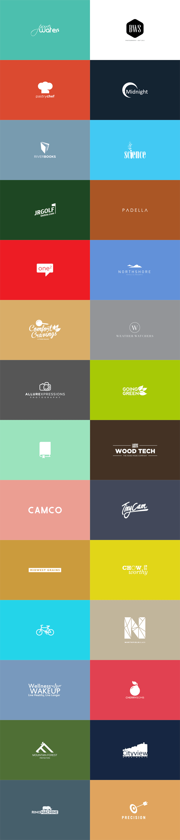 LogoFolio no. 1 by Brandon Williams