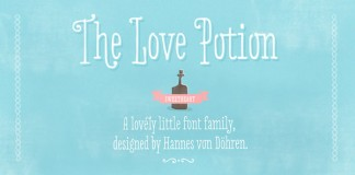 Love Potion - Hand Drawn Serif Font Family by HVD Fonts