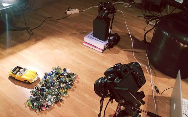 Making of - Stop Motion Music Video by Christophe Thockler for O Conqueror - Fake Love