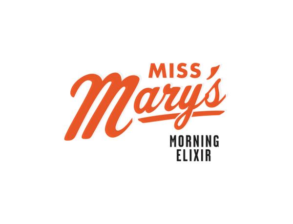 Miss Mary's Morning Elixir - Logotype Design by Brandon Van Liere