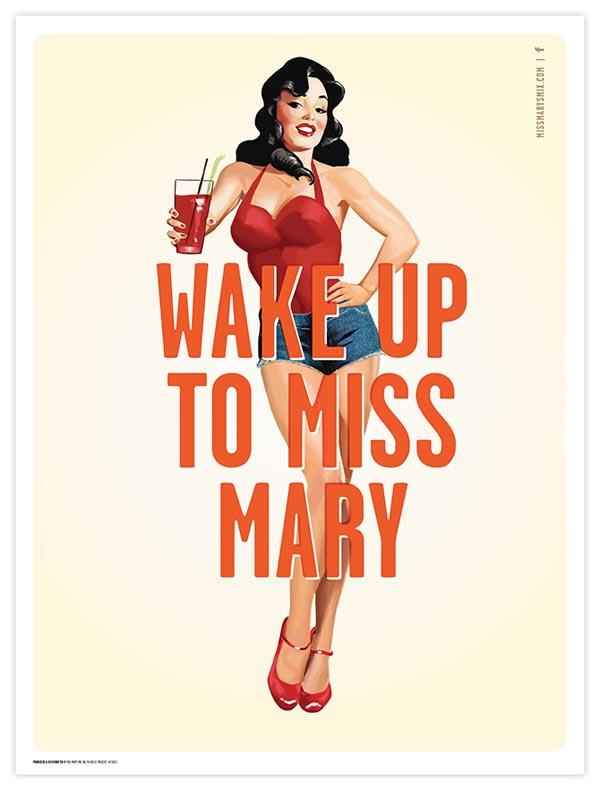Miss Mary's Morning Elixir - Poster Artwork by Brandon Van Liere