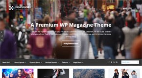 News Grid - WordPress Magazine Theme