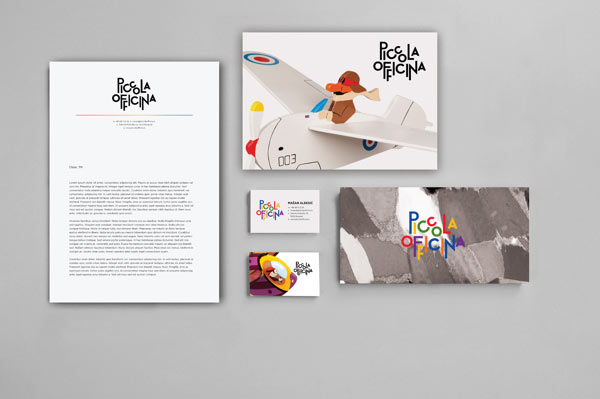 Piccola Officina - Brand Identity by de:work