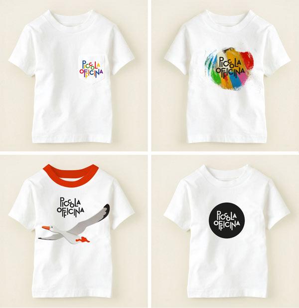 Piccola Officina - Children T-Shirt Designs by de:work