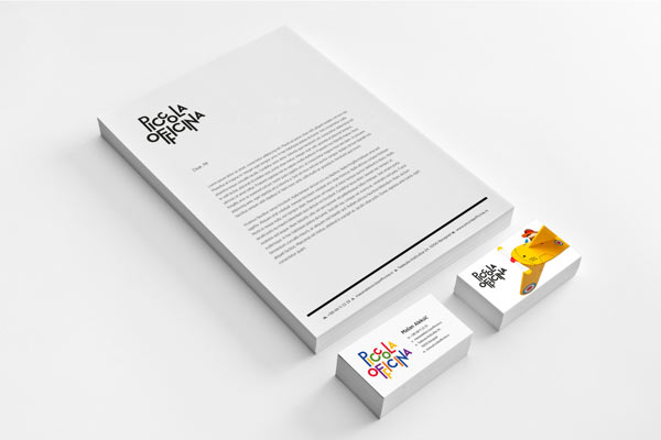 Piccola Officina - Stationery Design by de:work