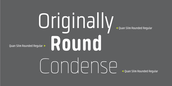 Quan Slim Rounded Regular