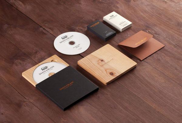 Shave & Blade Brand Material by Studio Eskimo