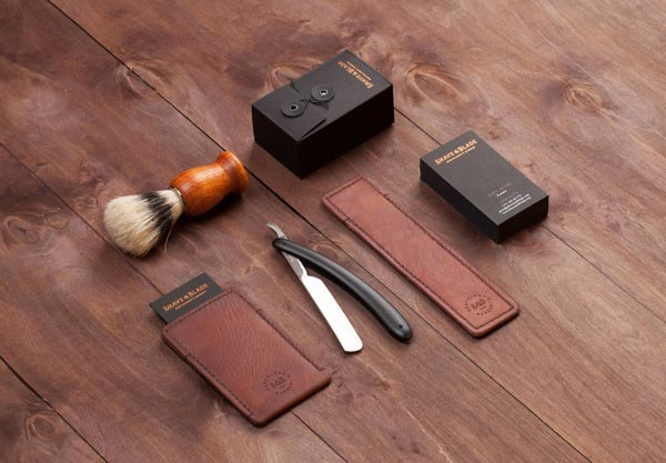 Shave & Blade Corporate Identity by Studio Eskimo