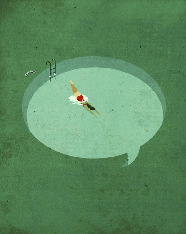 Editorial Illustrations by Emiliano Ponzi