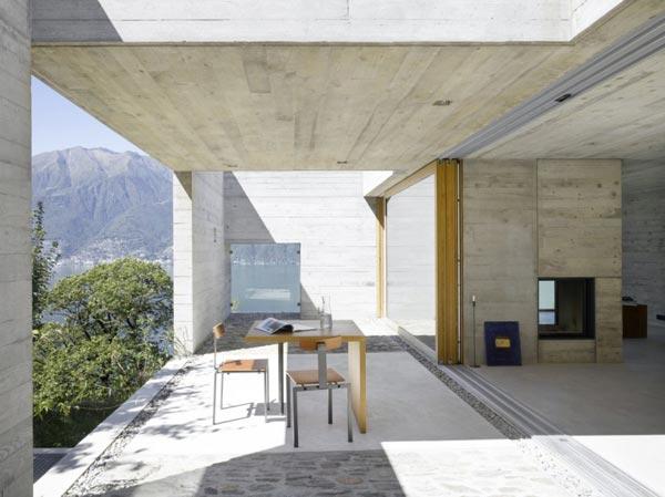 Concrete House Designs concrete house in switzerlandwespi de meuron romeo architetti