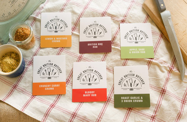 The Great British Butcher - Branding by Design by Day