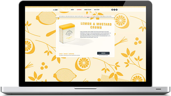 The Great British Butcher - Web Design by Design by Day