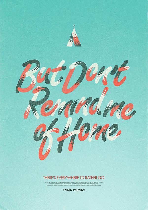 Typographic Artwork by Bruno Borges