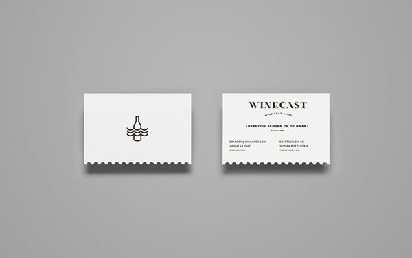 Winecast - Business Cards by Anagrama