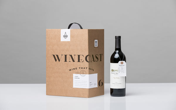 Winecast - Packaging Design by Anagrama