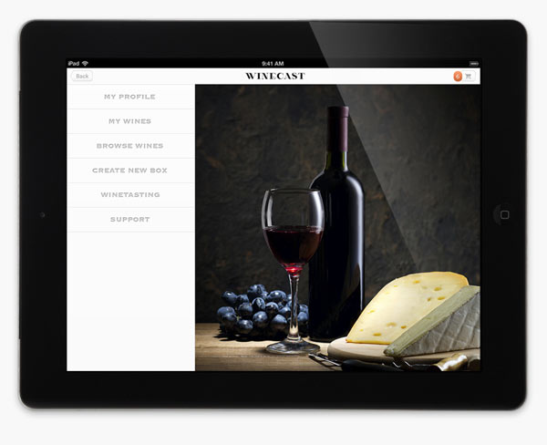 Winecast – Branding, Packaging, and Web Design by Anagrama
