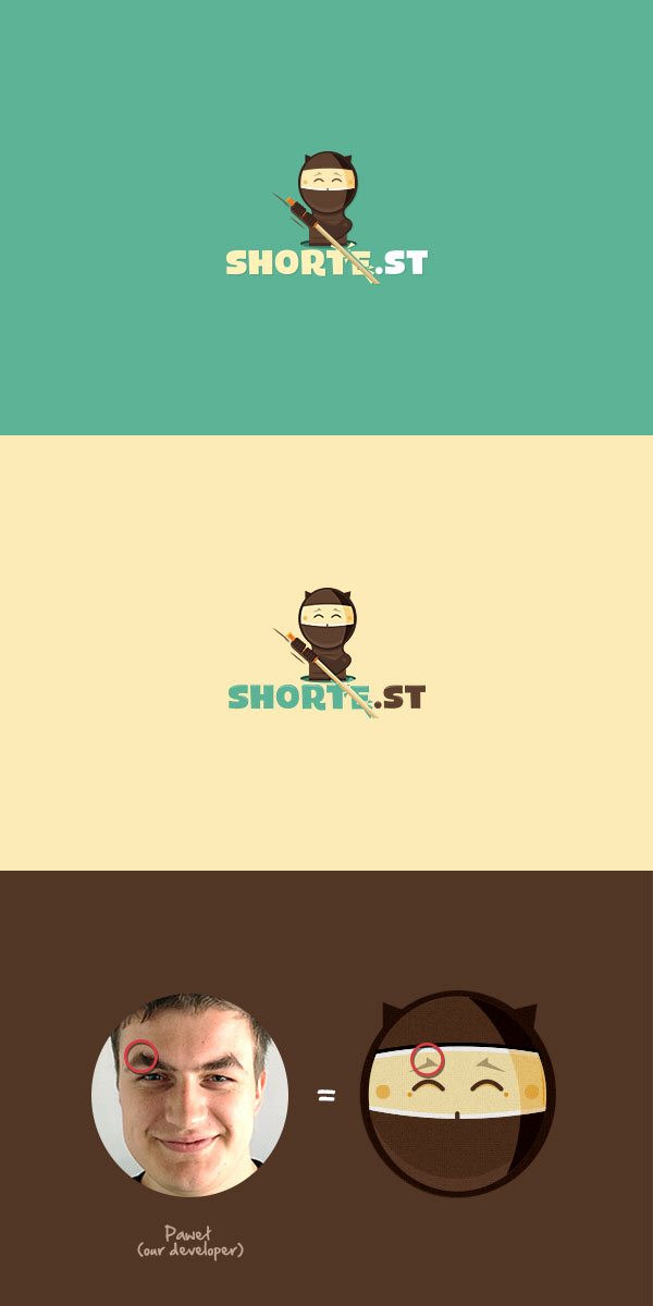 shorte.st Branding by Dawid Legierski