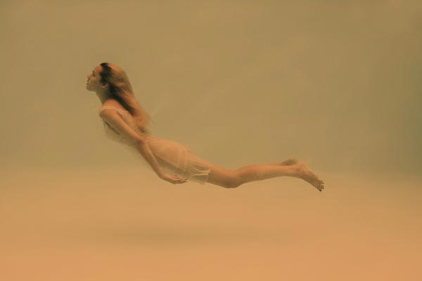 Weightlessness - Underwater Photography by Adeline Mai