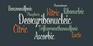 Acid Calligraphic Script Font by Typomancer