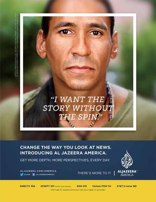 Al Jazeera America - Photography by Martin Schoeller