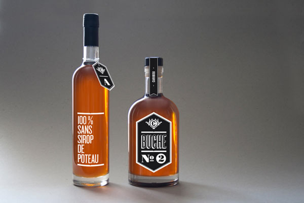Caribou Bottle Packaging Design by Maxime Brunelle