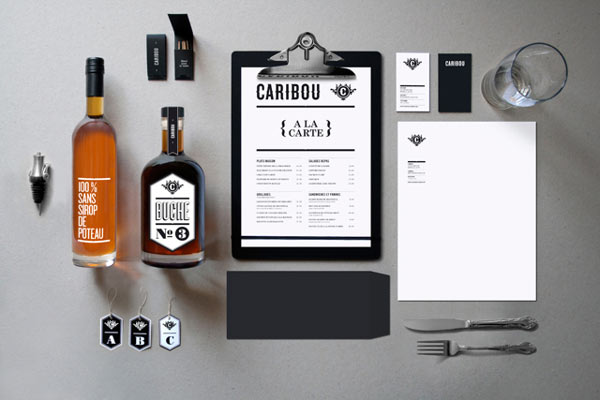 Caribou Brand Identity by Maxime Brunelle