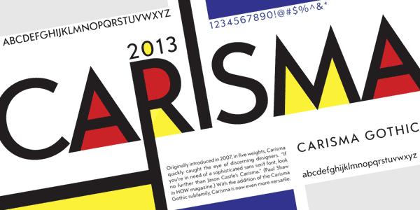 Carisma – Sans Serif Font Family by CastleType