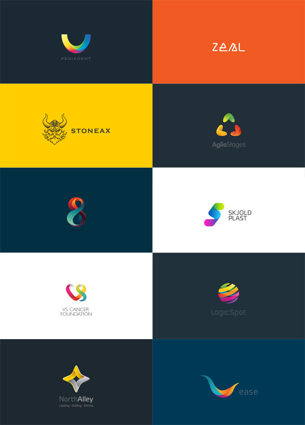 Best Colors Logos Colorful Logo Designs by