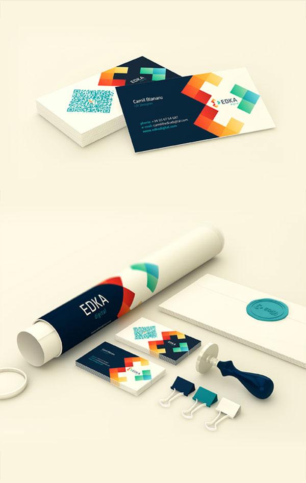 Edka Digital – Brand Identity