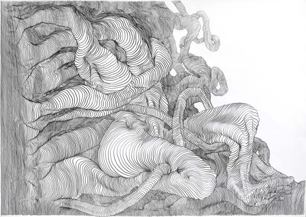 Graphite Drawing by Carl Krull