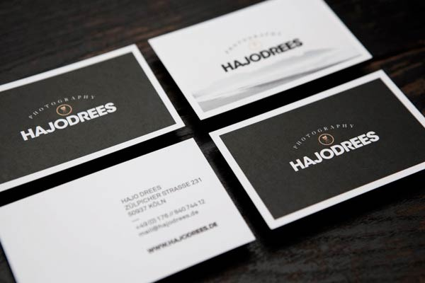 Hajo Drees Photography - Business Cards