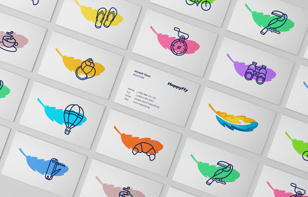 HappyFly Brand Design by Realist