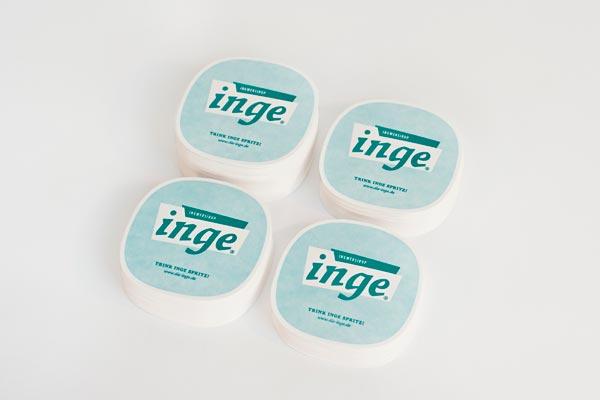 Inge Ginger Syrup Identity Design by Zeichen & Wunder