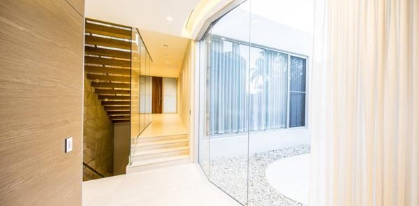 Inside the Box House in Sydney, Australia by Zouk Architects