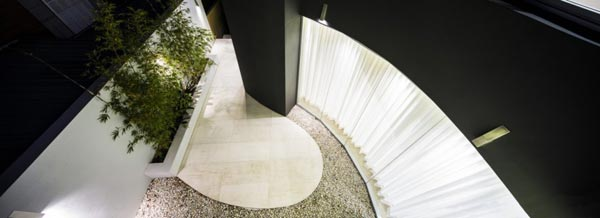 Interior of the Box House in Sydney, Australia by Zouk Architects