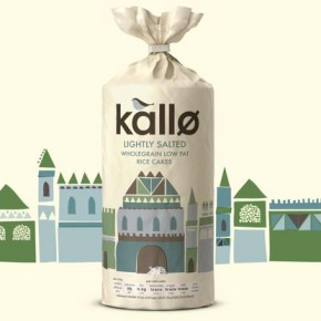 Kallo Rice Cake Branding by Big Fish